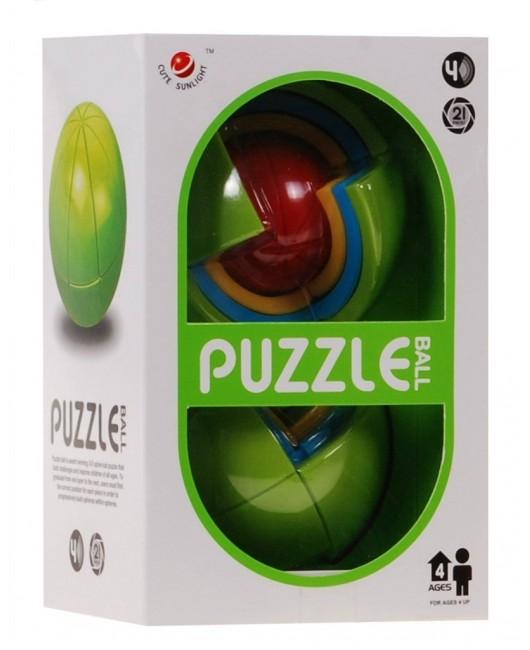 3D puzzle guľa